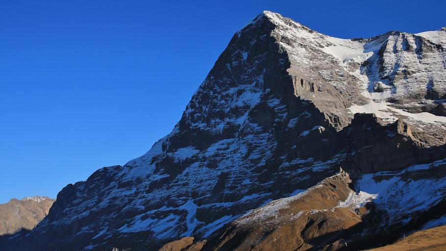 Eiger North Face, view from Kleine Scheidegg