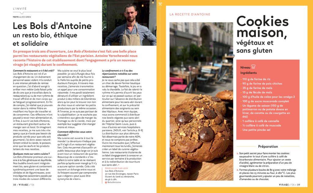 Les Bols d'Antoine : un restau bio, éthique et solidaire