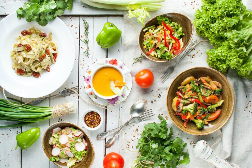 Les différents styles de cuisine végétale